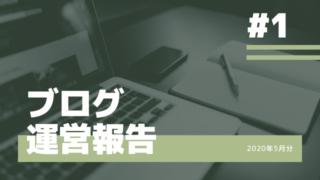 【1ヵ月目ブログ運営報告】収益3,000円・5,000PV